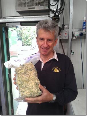 2kg of frozen elderflowers