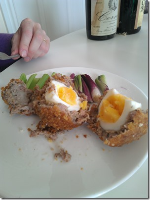 Beechcroft Farm sausage meat Scotch eggs