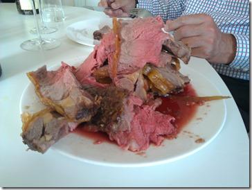 Roast beef from Beechcroft Farm