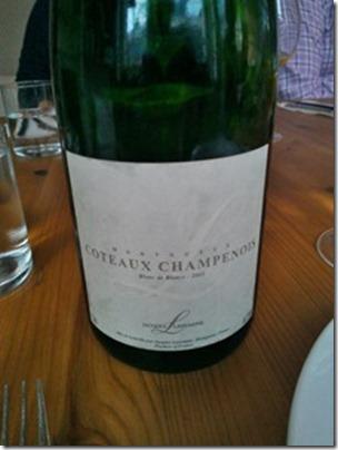 Coteaux Champenois Blanc de Blancs 2005 by Jacques Lassaigne