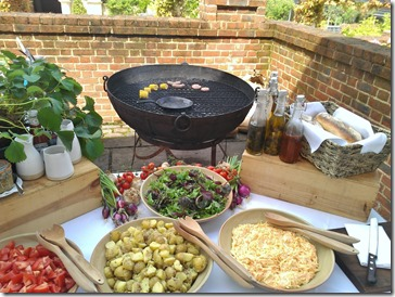 The Lime Wood Hotel's barbecue