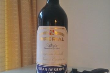 Rioja Gran Reserva Imperial 2000 from CUNE