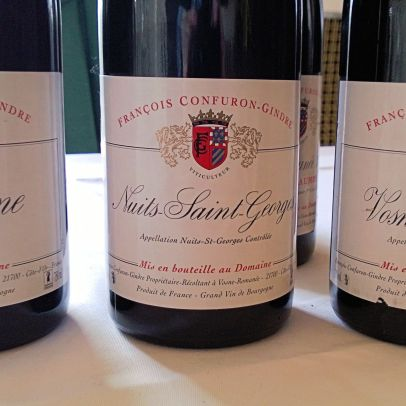 Confuron-Gindre Bourgogne, Nuits Saint Georges and Vosne-Romanee