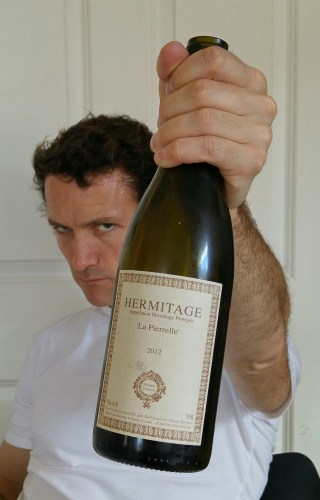 Richard is convinced that Hermitage Blanc is drank by evil murderers!