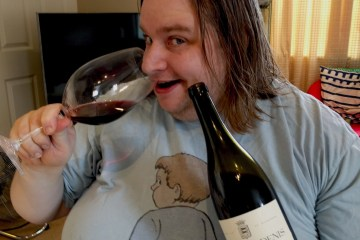 The Editor enjoing Morey Les Loups 2007