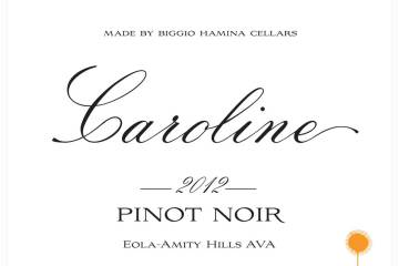 Biggio-Hamina Caroline Pinot Noir 2012