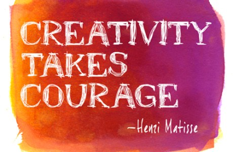 Encouragement to Create