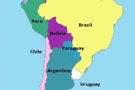 map of south america | elizabeth the blogger