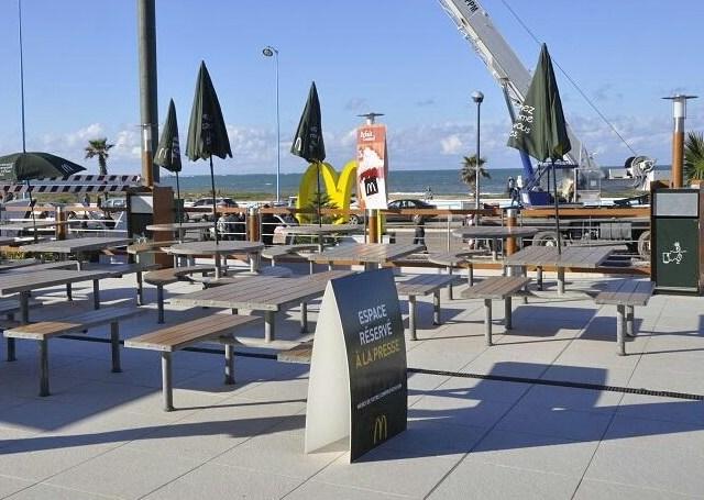 El-Jadida: le restaurant Mac Donald, dans la ligne de mire de la campagne de libération du domaine public