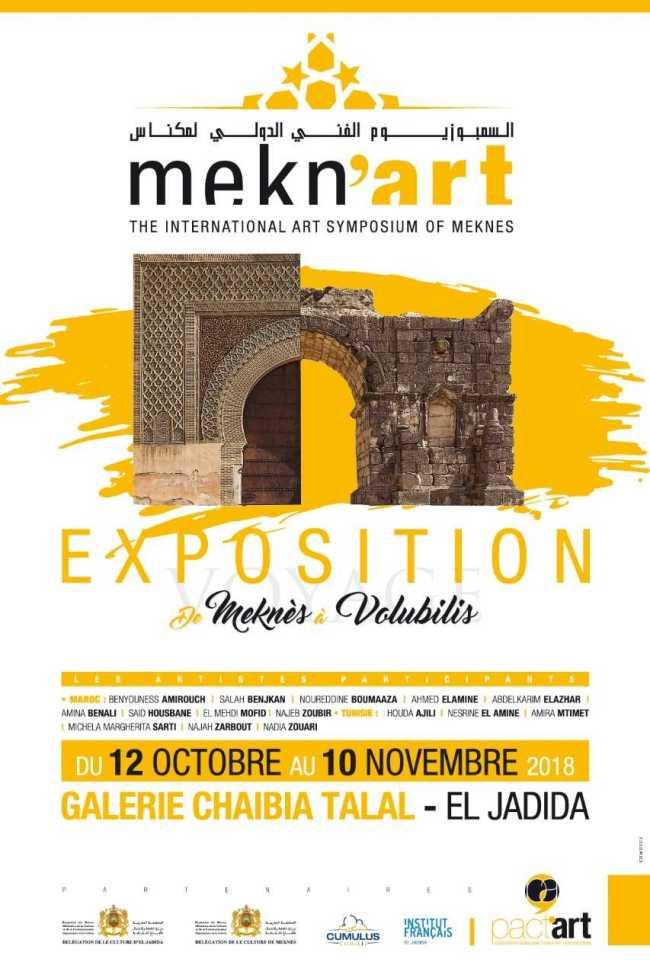 affiche expo meknes