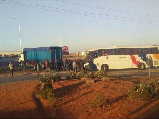 Grave accident entre Jorf Lasfar et El-Jadida: plus d'une dizaine de blessés