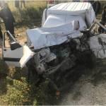 El Jadida: Une violente collision entre un semi-remorque, un pick-up et une voiture fait 5 blessés