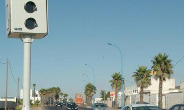 El Jadida: Installation de nouveaux radars de contrôle de vitesse