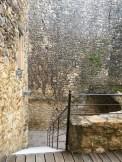 Warm Gard region stonework at Gressac