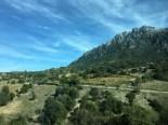 Granite mountains, scrub cover much of Sardinia