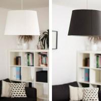 DIY: Farbe plus alter Lampenschirm gleich neuer Lampenschirm