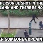 Κι όμως υπάρχει αίμα στο βίντεο της εκτέλεσης του Γάλλου αστυνομικού στο Παρίσι.