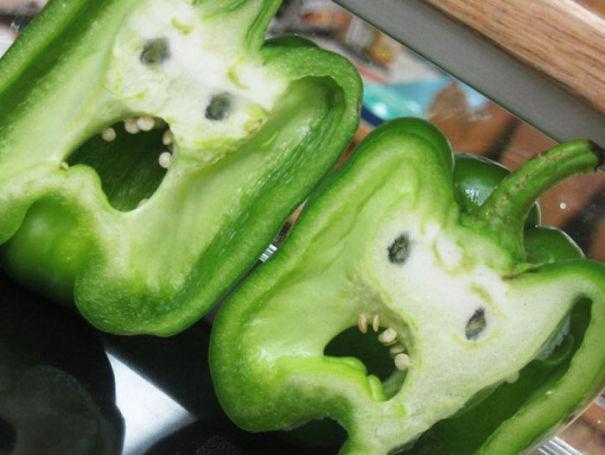 τρομαγμένες πιπεριές