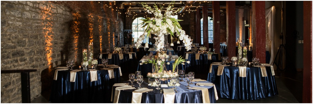 navy and champagne wedding,