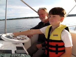 Don Ellis with grandson Cedar Ellis