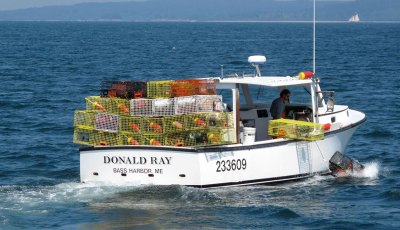 Ellis 36 Lobster Boat in Downeast Maine
