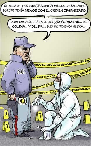 Atentado contra ex gobernador del PRI, en Colima