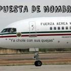 Avión Ya chole con sus quejas