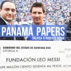 Panamá Papers salpica a Roberto Borge y Lio Messi