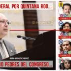 Diputado Mario Machuca Sánchez, en top ten de la vergüenza