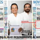 A las portada de Novedades, el gobernador electo, Carlos Joaquín respondió acompañándose por Gerardo Mora