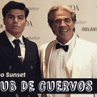 Gustavo Miranda y Orlando Arroyo, club de cuervos