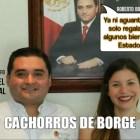 Mauricio Rodríguez Marrufo y Paulina García Achach