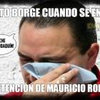Meme Viral: Llora Borge arresto de ex colaborador