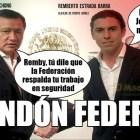Miguel Angel Osorio y Remberto Estrada