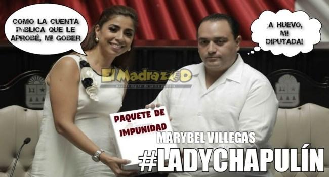 Marybel Villegas, #LadyChapulín