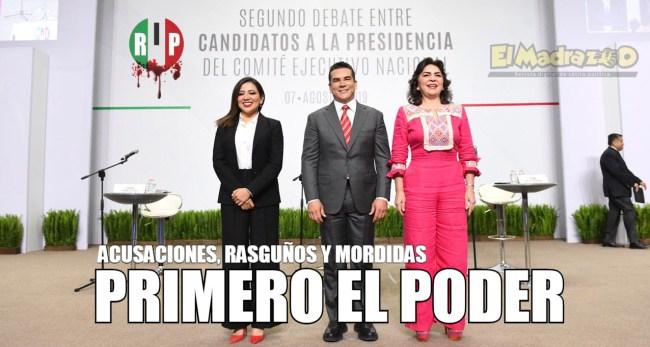 Debate del PRI