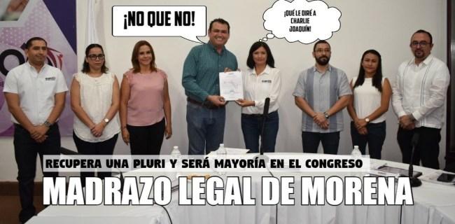 Madrazo legal de Morena
