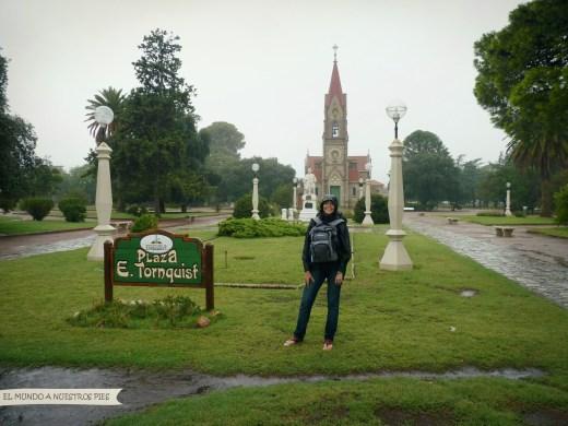 Plaza central de Tornquinst