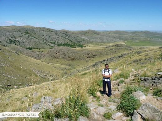 Bajando cerro Ventana