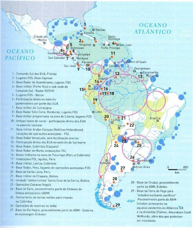 EEUU en Latinoamérica