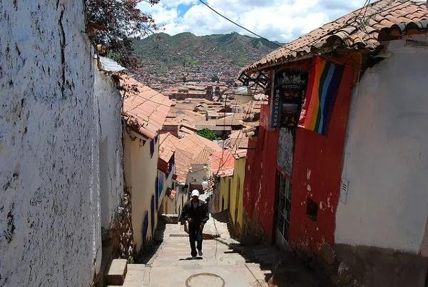 Cuesta del barrio de San Blas del Cusco