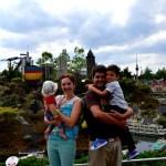 Fotos de Legoland Alemania, Vero, Oriol, Teo y Pau en Legoland