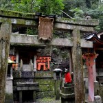 Fotos del Fushimi Inari de Kioto, templete de Inari