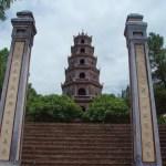 La pagoda de Thien Mu en Hué