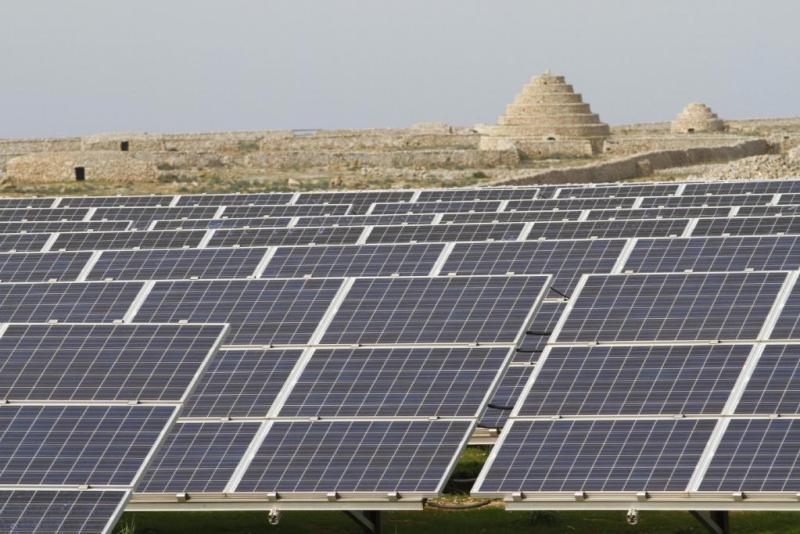 Planta fotovoltaica de Son Salomó, en Menorca.