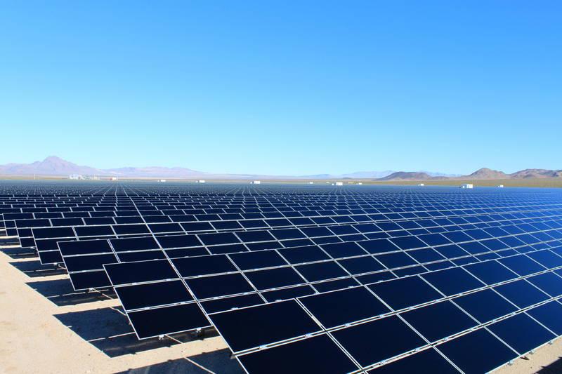 Parque fotovoltaico de Copper Mountain, en Nevada.