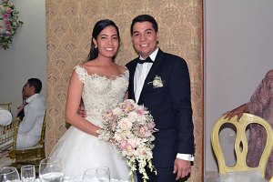 Óscar Porras y Gina Viloria.