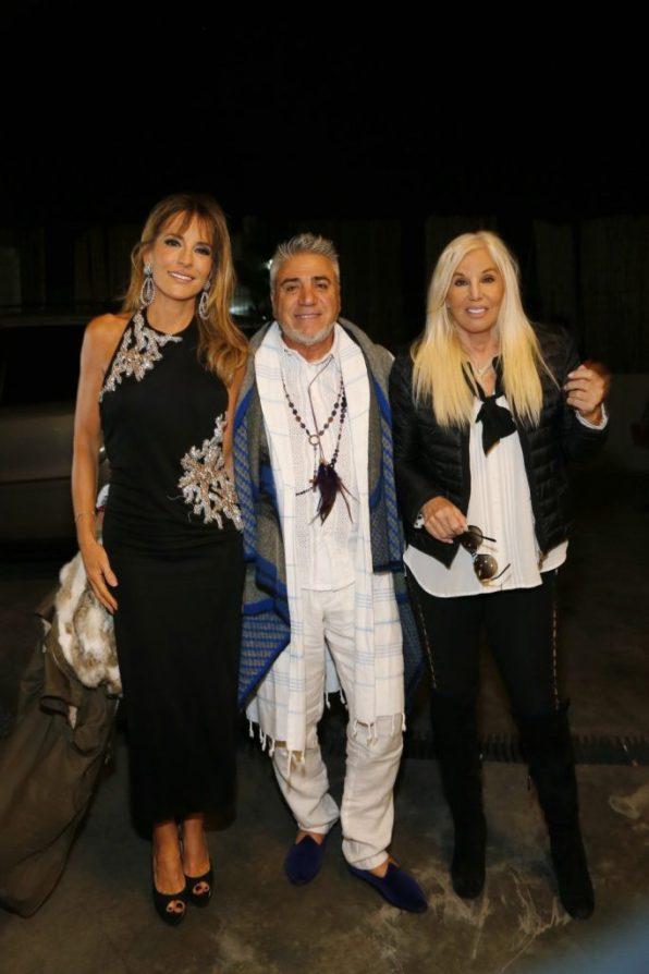 Rosella Della Giovampaola, Carlos di Doménico y Susana Giménez.