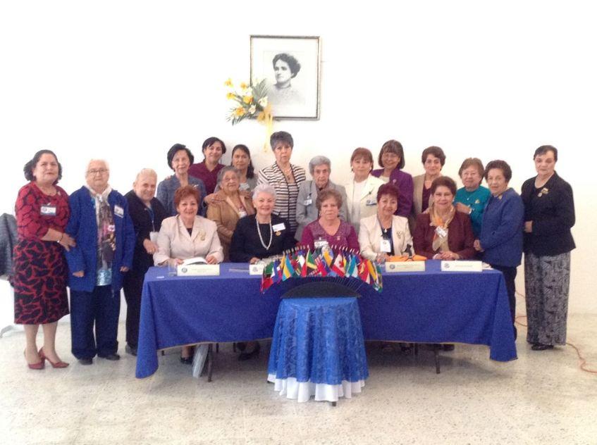 Distinguidas Damas de la Mesa Redonda Panamericana e invitadas especiales.