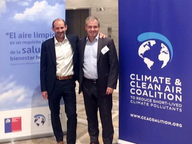 Marcelo Artime junto a Renan Poveda Gerente de Proyectos del Banco Mundial